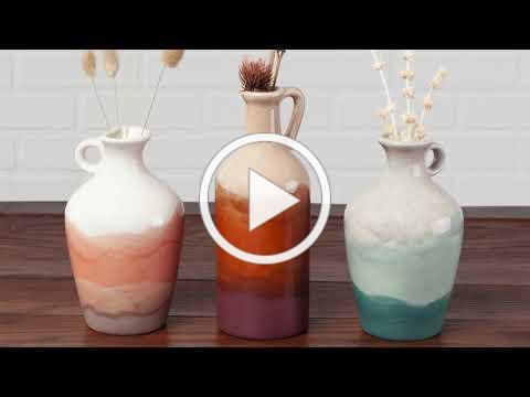 Organic Vase: Paint Your Own Autumn Decor