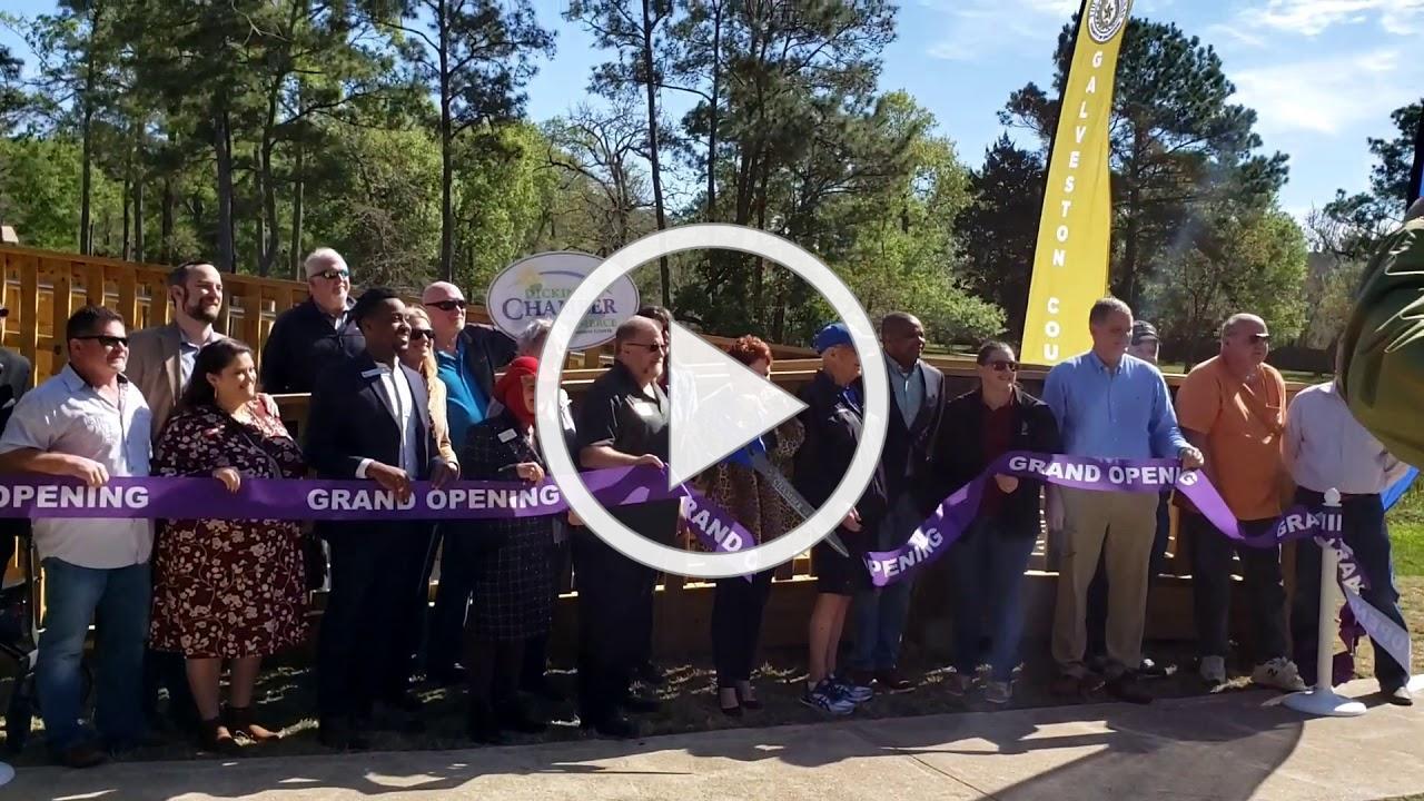 Paul Hopkins Park - New Bridge Ribbon Cutting 2020