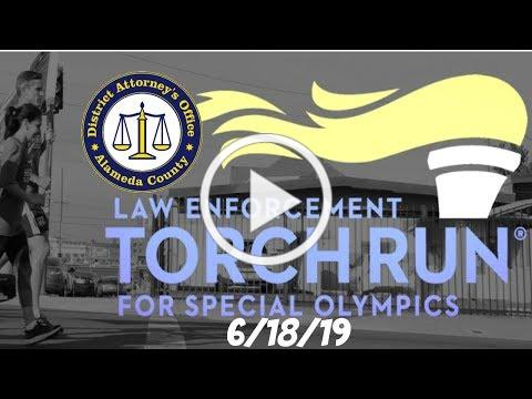 2019 Law Enforcement Torch Run For Special Olympics: Alameda County District Attorney's Office