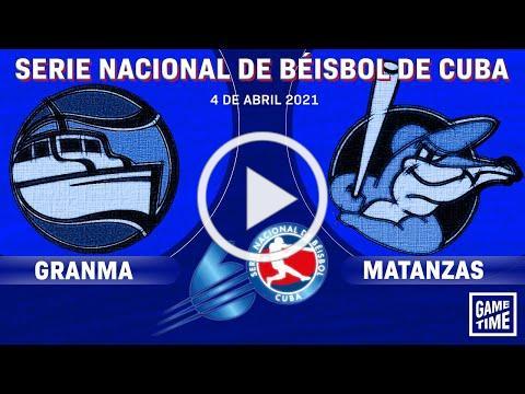 Granma v Matanzas - Serie Nacional de Béisbol de Cuba - Game 6 - Final - April 4th, 2021