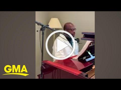 This doctor's rendition of 'Rise Up' by Andra Day is the inspiration we need today l GMA Digital