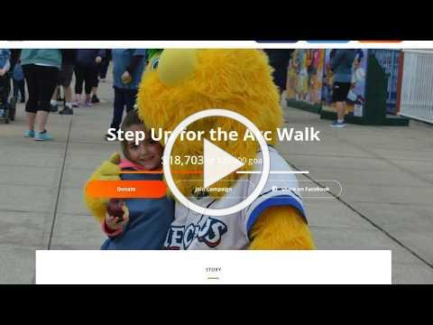 Sign Up for The Arc Ocean Walk 2018
