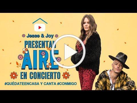 Jesse & Joy presentan Aire en concierto