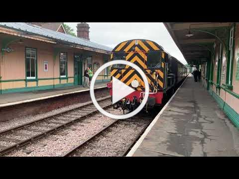 09018 at the Bluebell Railway 27/07/2019