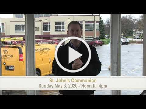 St. John's Communion Service Announcement