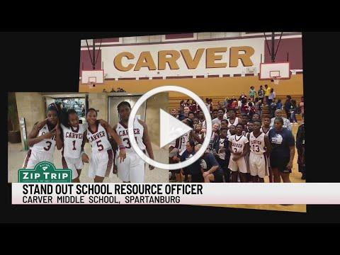 Zip Trips: Carver Middle School resource officer doubles as basketball coach