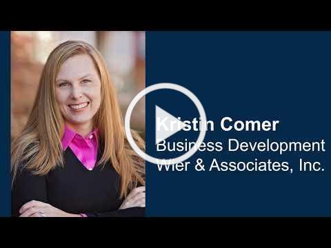 Kristen Comer - Regional Advantage Testimonial