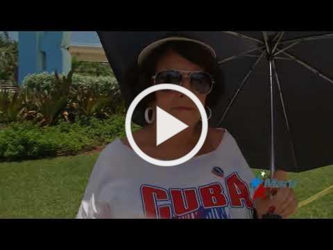 Cubanos protestan en Miami contra los cruceros a Cuba para enriquecer al régimen