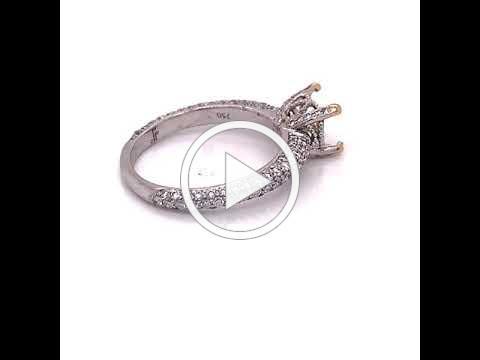 MDJ Advantage - Jude Frances - Diamond Semi Mount .93 ct- 4009444 -