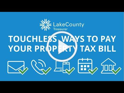 Touchless Ways to Pay your Property Tax Bill