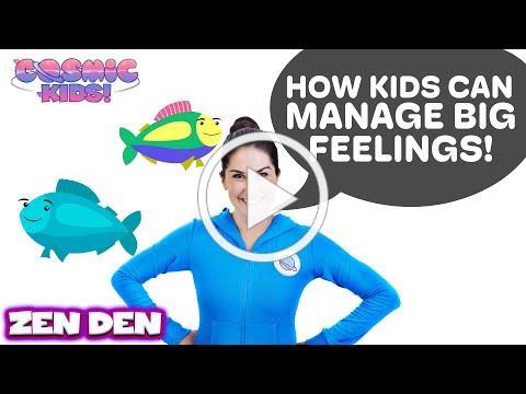 Be the Pond | Cosmic Kids Zen Den - Mindfulness for kids