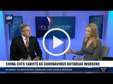 Boustead's Dan McClory talks China Tariff Cuts and Coronavirus on i24 News' Clearcut