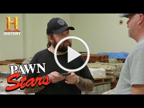 Pawn Stars: Bank Note Plates Give Chumlee an Idea (Season 16)   History