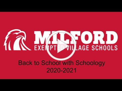 Milford Back to School with Schoology 2020