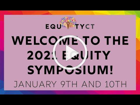 Welcome to the 2021 Equity Symposium!