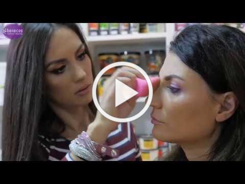 Tutorial machiaj cu produse de make-up 100% naturale Benecos la Organik.ro