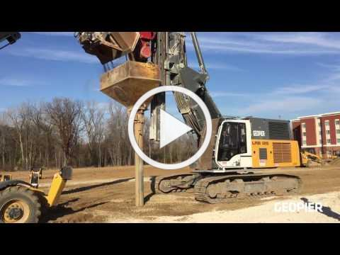 Geopier Impact® On-Site Installation and Animation
