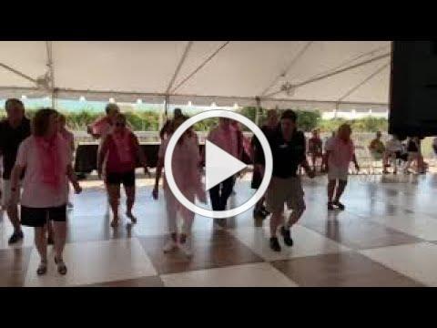 ShagAtlanta dancing Stroll Along Cha