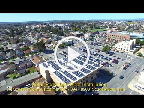 Scudder Installs L+G Solar Roof