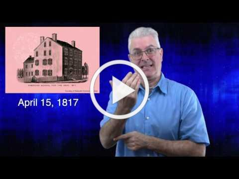 Celebrating 200 Years of Deaf Education: Prologue