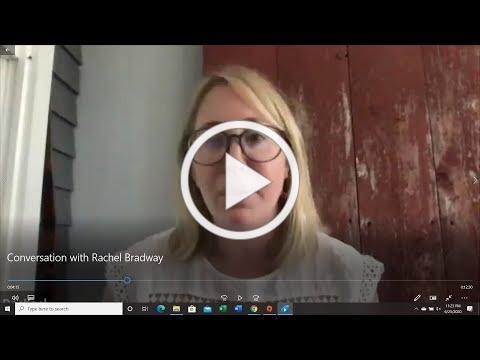 A Conversation with Rachael Bradway