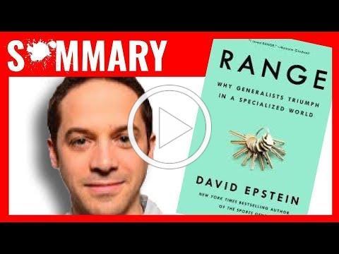 RANGE by David Epstein | Book Summary
