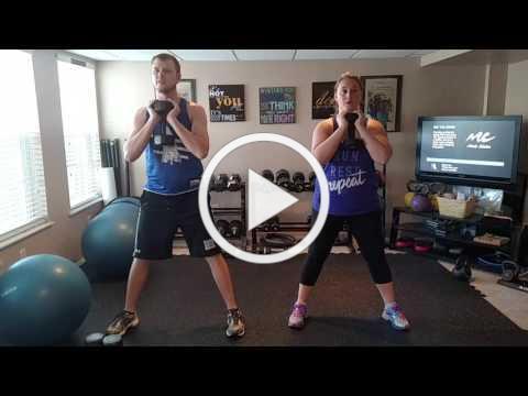 Brett and Laura - Goblet Squats