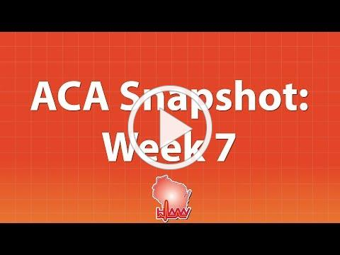 Open Enrollment Snapshot: Week 7