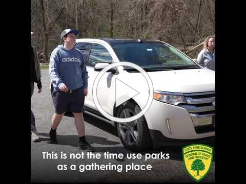 Social Distancing in New Jersey's state parks