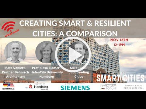 Smart & Resilient Cities: Hamburg HafenCity & other models