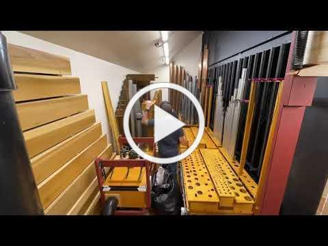 All Saints' organ build time lapse