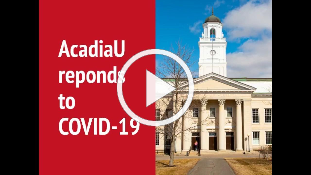 Farewell from AcadiaU