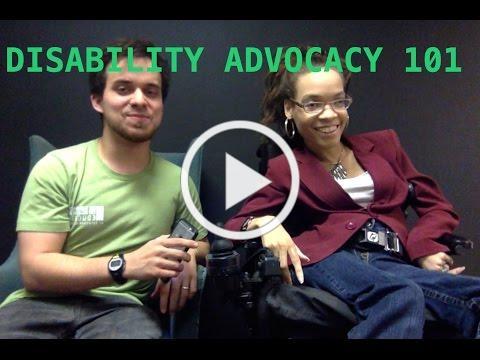 Disability Advocacy 101