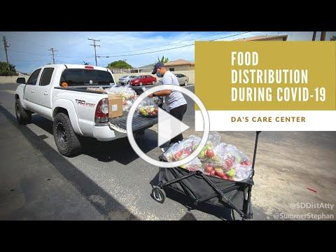 DA's CARE Center Provides Food During COVID-19