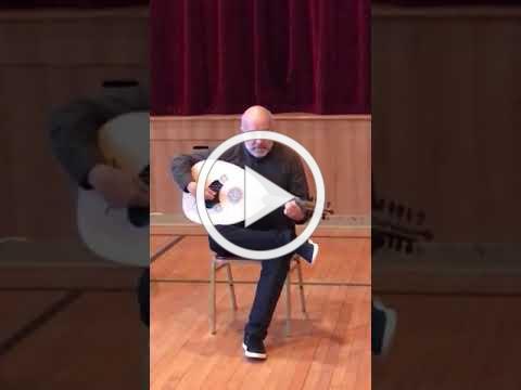 Ara Dinkjian visits Nareg Armenian School, NJ