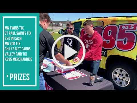 MN Biofuels and KS95 FM at Winner Roseville May 2019