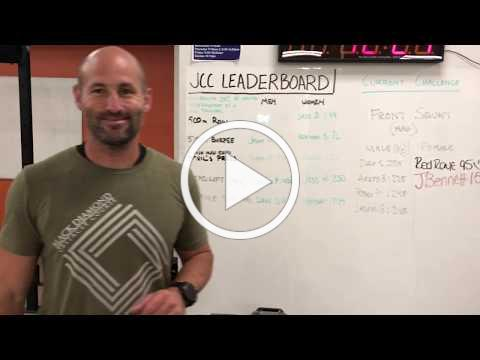 Fit Tip of the Week - JCC Leader Board