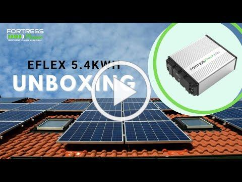 Unboxing of the Fortress Power eFlex 5.4kWh Battery