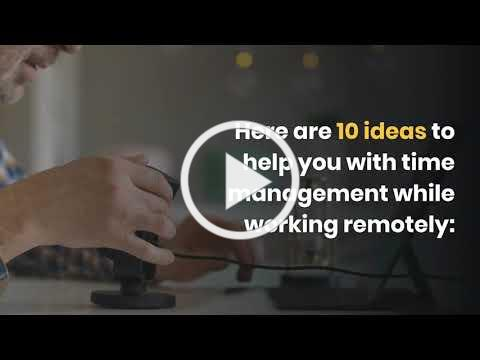 10 Time Management Ideas for Remote Working by Big Ideas for Small Business, Inc.
