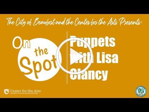 Lisa Clancy talks puppets!