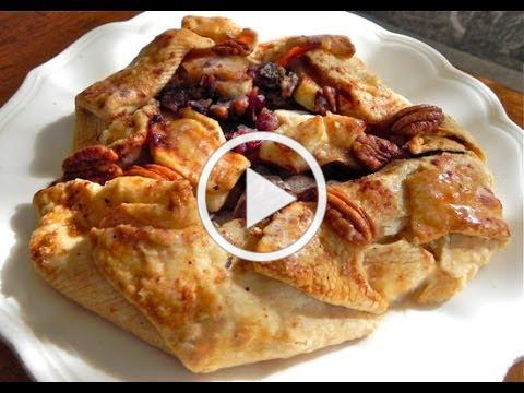 Rustic Pear and Apple Galette