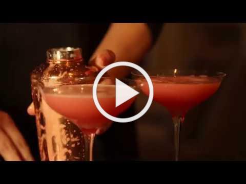 "71st Regiment Gin ""Silky Sour"" Cocktail"