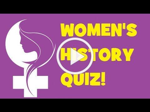 Women's History Quiz!