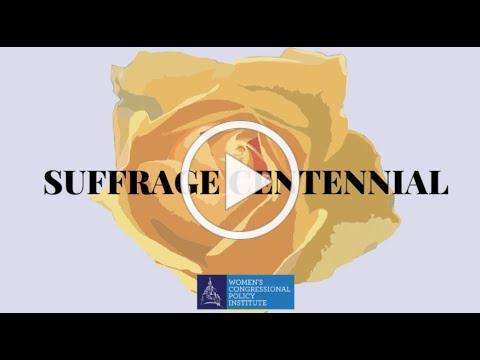 Women in Congress Celebrate the Women's Suffrage Centennial