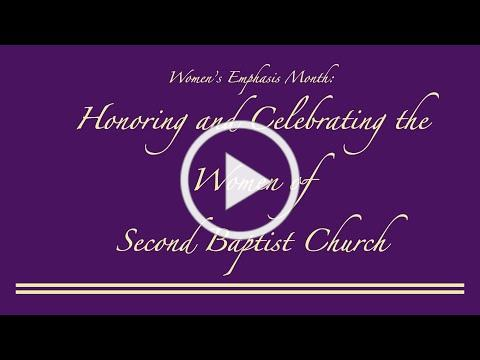 The Women of Second Baptist Church