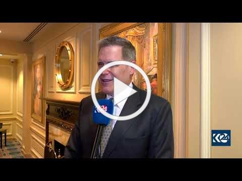 U.S. Ambassador to Iraq Matthew H. Tueller speaks to Kurdistan 24
