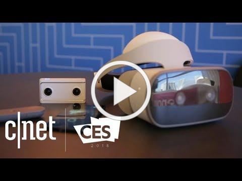 Lenovo Mirage Solo with Daydream: Mobile VR, no phone necessary