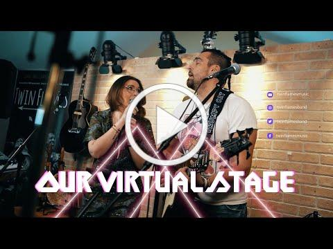 Our Virtual Stage and Home Studio Tour - Twin Flames