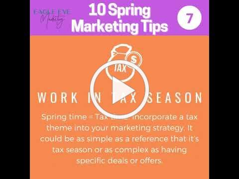 Eagle Eye Marketing Spring Cleaning Tips for Your Marketing