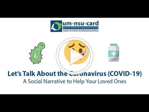 UM-NSU CARD's Let's Talk About The Coronavirus (COVID-19) Whiteboard Social Narrative Video